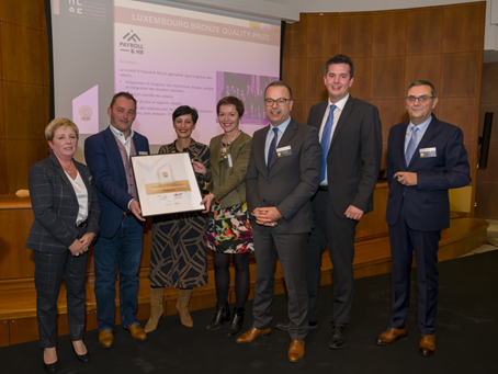 Luxembourg Bronze Quality Prize 2019 | IF Payroll & HR